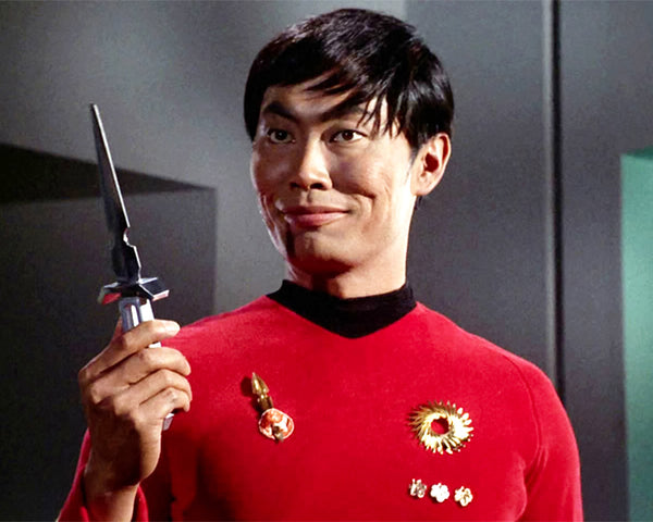 George Takei: Personalized Autograph Signing on Star Trek Photos, February 7th