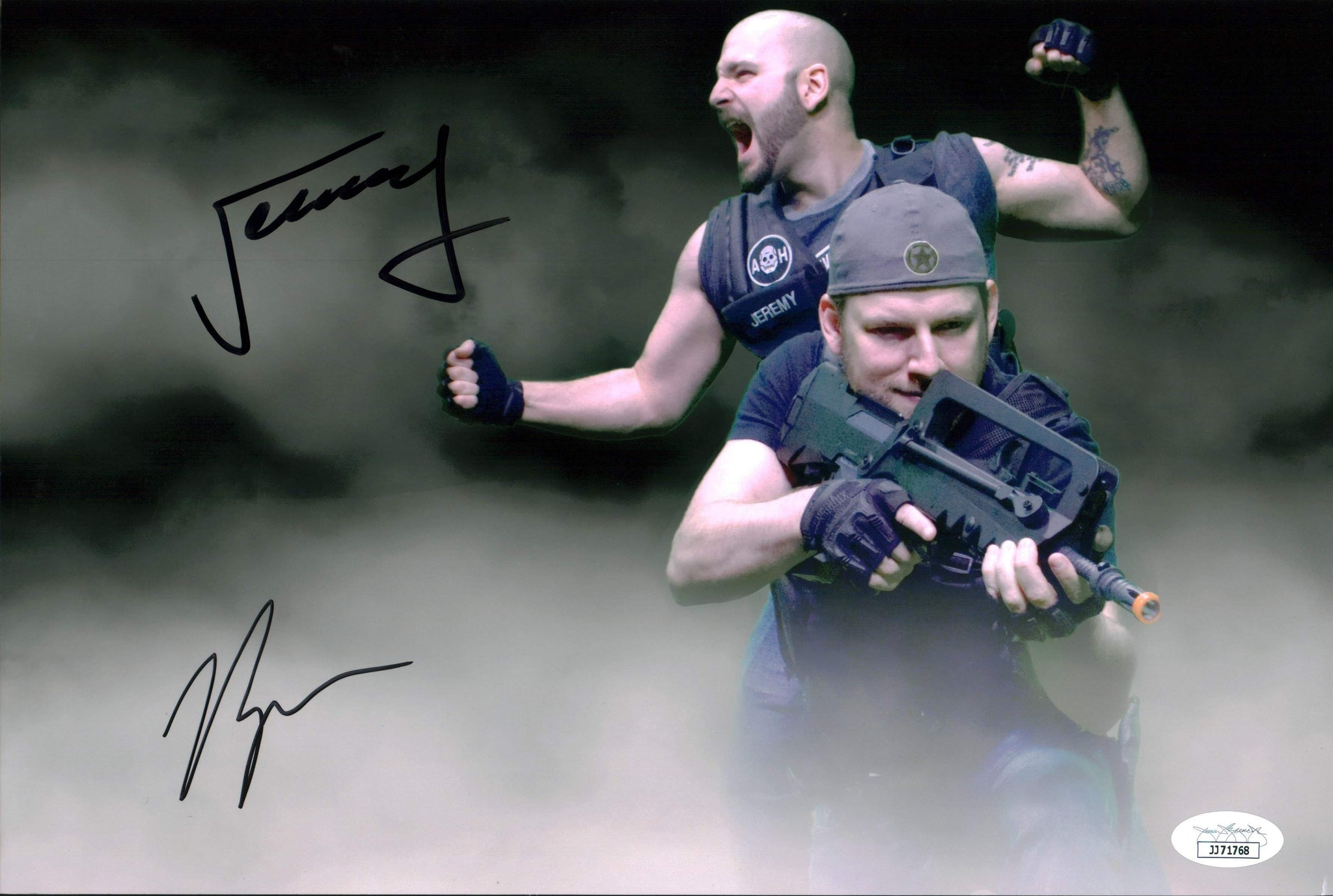 Achievement Hunter 8x12 Photo Signed Autograph Dooley Haywood JSA Certified COA GalaxyCon