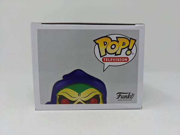 Alan Oppenheimer MOTU Battle Armor Skeletor #563 Exclusive Signed JSA Funko Pop GalaxyCon