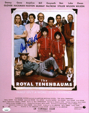 Anjelica Huston Royal Tenenbaums 11X17 Photo Poster Signed Autograph JSA Certified COA Auto GalaxyCon