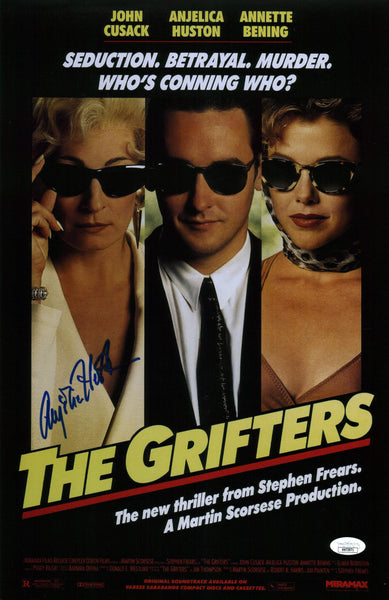 Anjelica Huston The Grifters 11X17 Photo Poster Signed Autograph JSA Certified COA Auto GalaxyCon