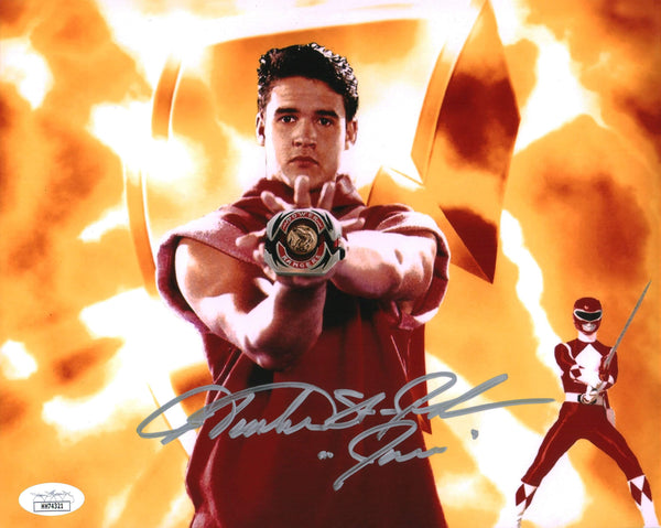 Austin St John Power Rangers 8x10 Photo Signed Autographed JSA Certified COA GalaxyCon