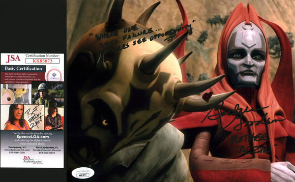 Barbara Goodson Star Wars Clone Wars 8x10 Photo Signed Autograph JSA Certified COA GalaxyCon