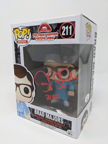 Barry Bostwick Rocky Horror Picture Show Brad Majors #211 Signed JSA Funko Pop GalaxyCon