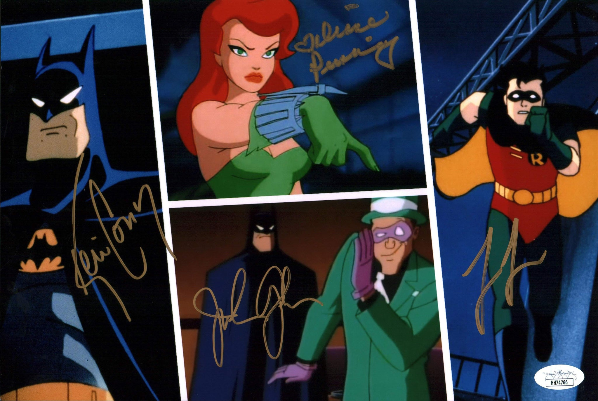 Batman 8x12 Photo Signed Autograph Conroy Lester Glover Pershing JSA Certified COA GalaxyCon