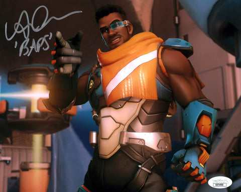 Benz Antoine Overwatch 8x10 Photo Signed Autographed JSA Certified COA GalaxyCon