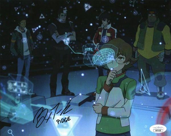 Bex Taylor Klaus Voltron 8x10 Photo Signed Autographed JSA Certified COA GalaxyCon