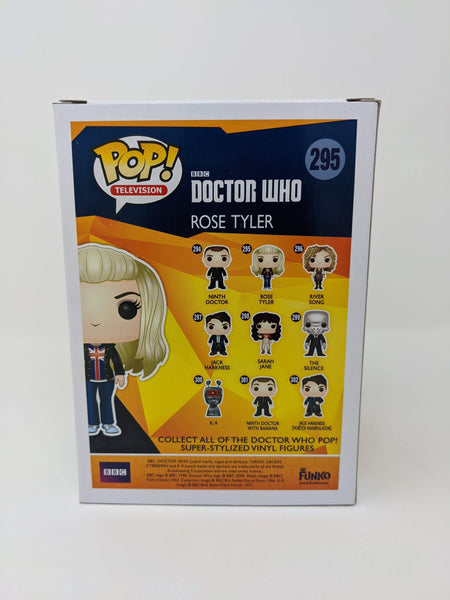 Billie Piper Doctor Who Rose Tyler #295 Signed JSA Funko Pop GalaxyCon