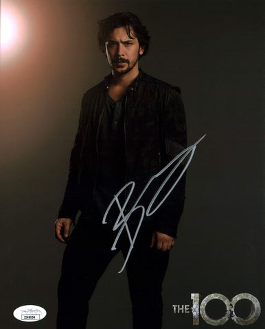 Bob Morley The 100 8x10 Photo Signed Autographed JSA Certified COA GalaxyCon