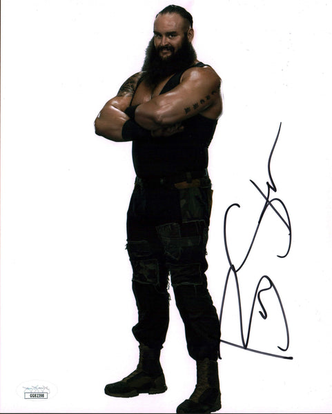Braun Strowman WWE 8x10 Photo Signed Autographed JSA Certified COA GalaxyCon