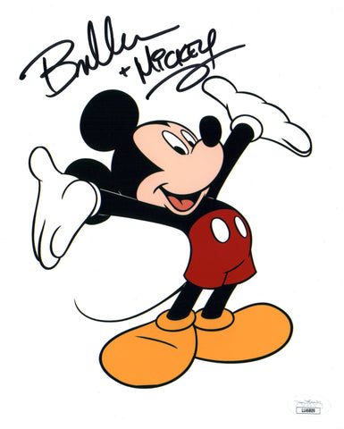 Bret Iwan Disney Mickey Mouse 8x10 Photo Signed Autograph JSA Certified COA Auto