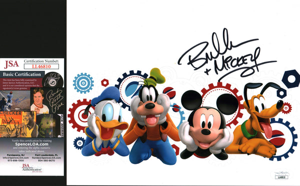 Bret Iwan Disney Mickey Mouse 8x10 Photo Signed Autograph JSA Certified COA Auto GalaxyCon