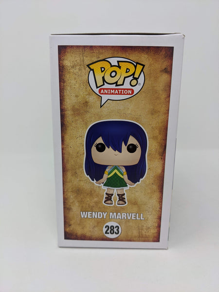 Brittney Karbowski Fairy Tail Wendy Marvell #283 Signed JSA Funko Pop Auto GalaxyCon