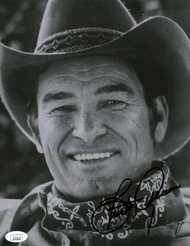 Burton Gilliam Blazing Saddles 8x10 Photo Signed Autographed JSA Certified COA GalaxyCon