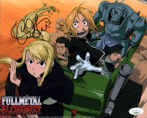 Caitlin Glass Fullmetal Alchemist 8x10 Photo Signed Autographed JSA Certified COA GalaxyCon