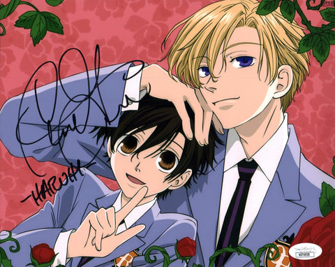 Caitlin Glass Ouran High School Host Club 8x10 Photo Signed Autographed JSA Certified COA GalaxyCon