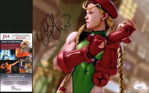 Caitlin Glass Street Fighter 8x10 Photo Signed Autographed JSA Certified COA GalaxyCon