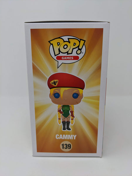 Caitlin Glass Street Fighter Cammy #139 Signed JSA Funko Pop GalaxyCon