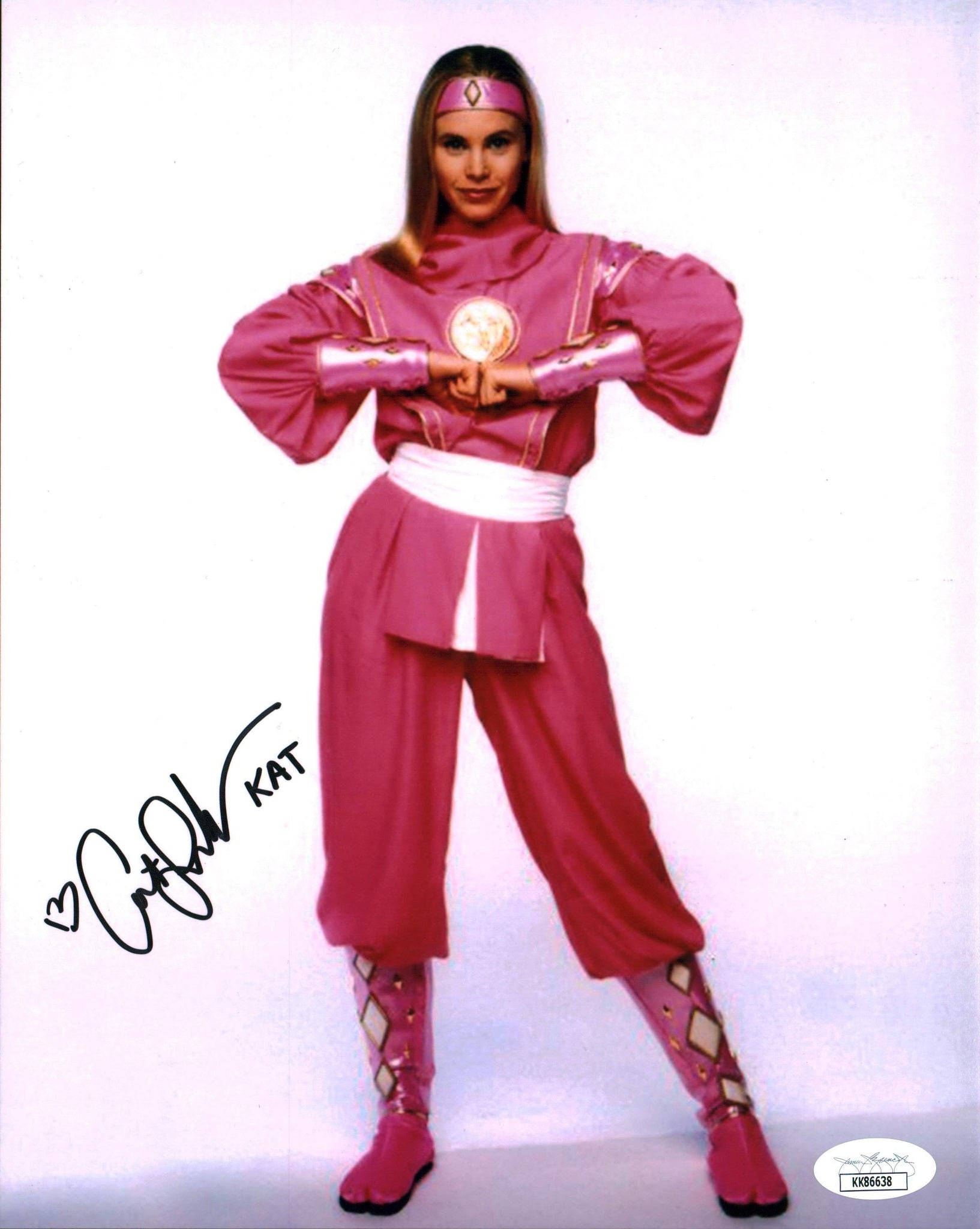 Catherine Sutherland Power Rangers 8x10 Photo Signed Autographed JSA Certified COA GalaxyCon