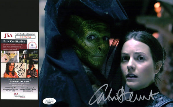 Catrin Stewart Doctor Who 8x10 Photo Signed Autograph JSA Certified COA Auto GalaxyCon