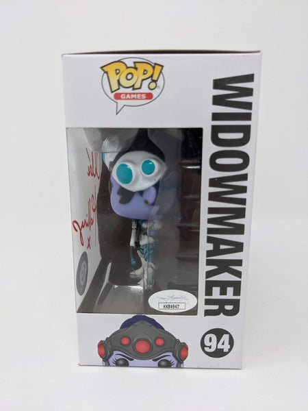 Chloe Hollings Overwatch Widowmaker #94 Exclusive Signed JSA Funko Pop Auto GalaxyCon