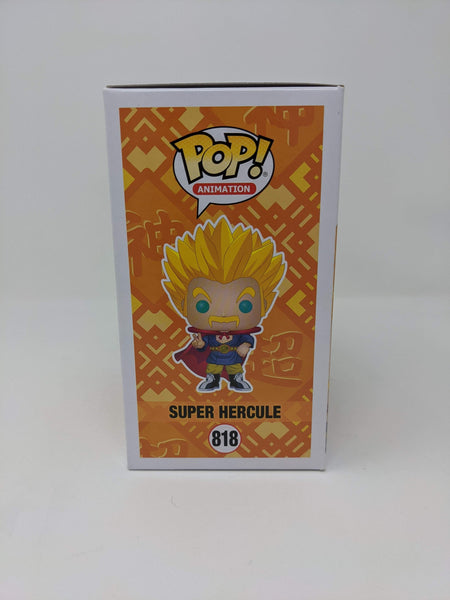 Chris Rager Dragon Ball Super Hercule #818 Exclusive Signed JSA Funko Pop Auto GalaxyCon