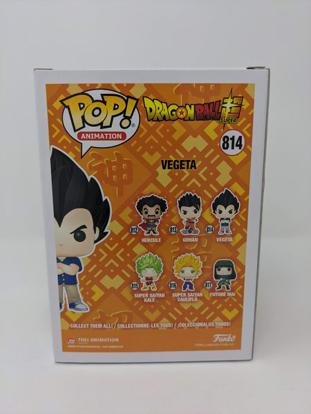 Chris Sabat Dragon Ball Super Vegeta #814 Signed JSA Funko Pop GalaxyCon