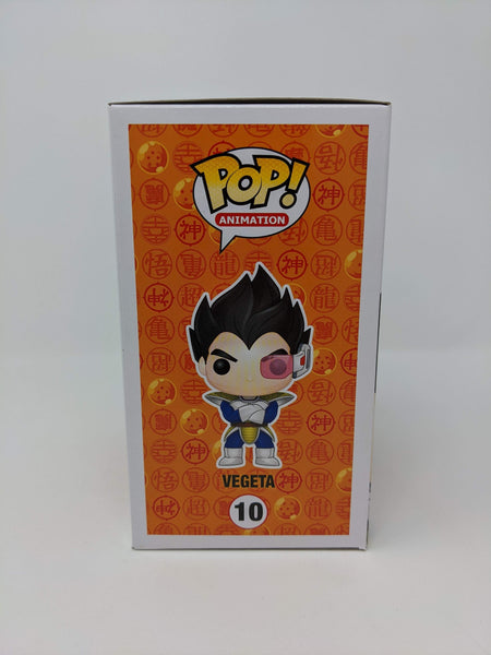 Chris Sabat Dragon Ball Z Vegeta #10 Signed JSA Funko Pop GalaxyCon