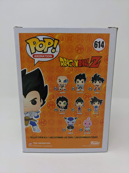 Chris Sabat Dragon Ball Z Vegeta #614 Exclusive Signed JSA Funko Pop GalaxyCon