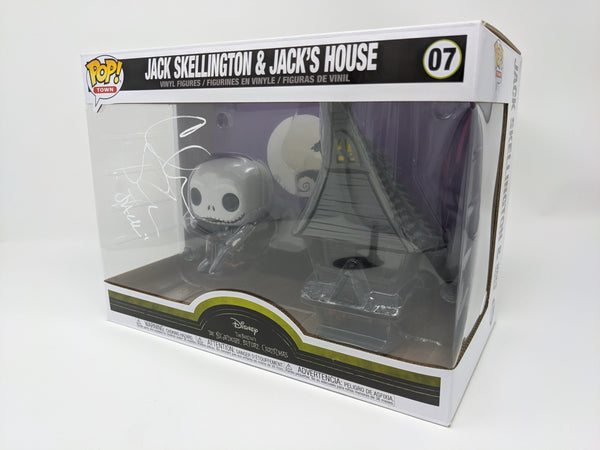 Chris Sarandon Disney Jack Skellington Jack's House #07 Signed JSA Funko Pop GalaxyCon