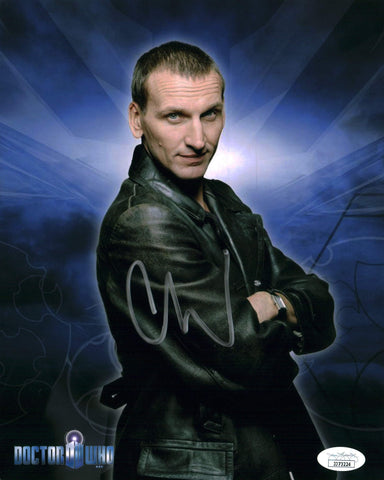 Christopher Eccleston Doctor Who 8x10 Photo Signed Autographed JSA Certified COA GalaxyCon
