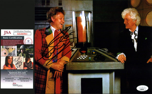 Colin Baker Doctor Who 8x10 Photo Signed Autograph JSA Certified COA Auto GalaxyCon