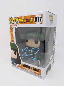 Colleen Clinkenbeard Dragon Ball Super Future Mai #817 Signed JSA Funko Pop GalaxyCon