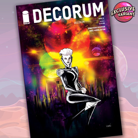 Decorum #1 GalaxyCon 2020 Convention Exclusive Variant Cover GalaxyCon