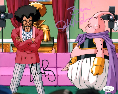 Dragon Ball Z 8x10 Photo Signed Autograph Martin Rager JSA Certified COA GalaxyCon