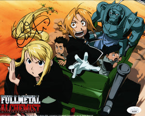 Full Metal Alchemist 8x10 Photo JSA Certified COA Signed by Caitlin Glass GalaxyCon