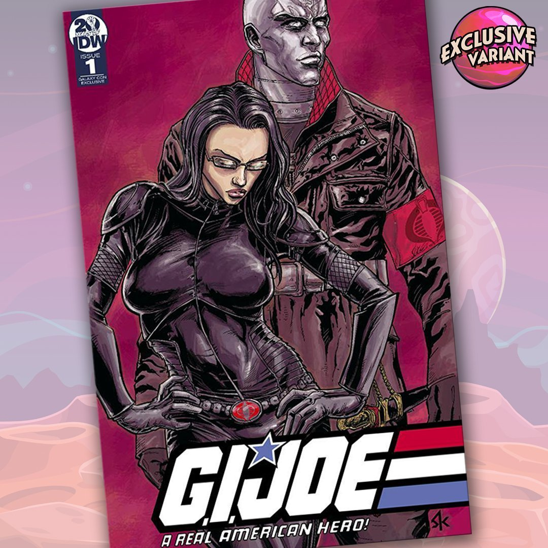 G.I. Joe: A Real American Hero #1 GalaxyCon Exclusive Variant Cover GalaxyCon