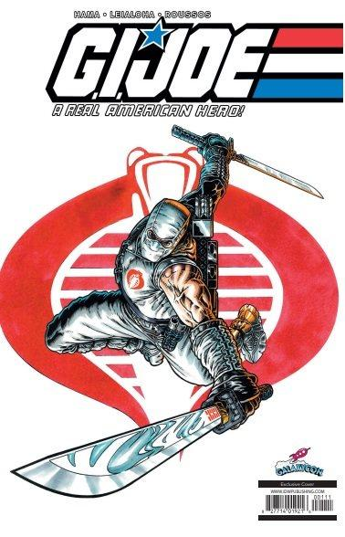 G.I. Joe: A Real American Hero #21 GalaxyCon Convention Exclusive Variant Cover GalaxyCon