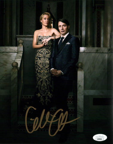 Gillian Anderson Hannibal 8x10 Photo Signed Autograph JSA Certified COA Auto GalaxyCon