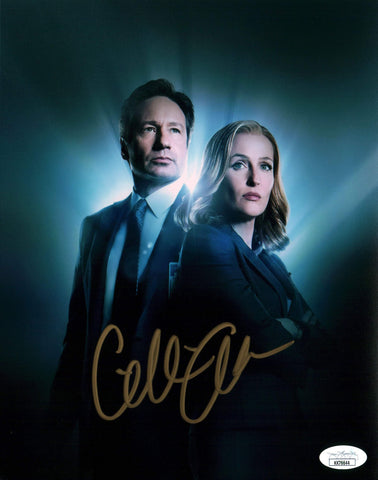 Gillian Anderson The X Files 8x10 Photo Signed Autograph JSA Certified COA Auto GalaxyCon