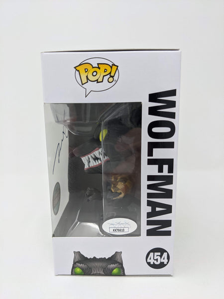 Glenn Walters Nightmare Before Christmas Wolfman #454 Exclusive Signed JSA Funko Pop GalaxyCon