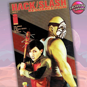 Hack/Slash Resurrection #8 SuperCon Photo Cover Variant GalaxyCon