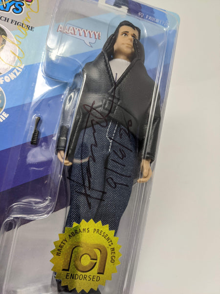 Happy Days Fonzie Mego Action Figure JSA Autograph Signed by Winkler Abrams Auto GalaxyCon