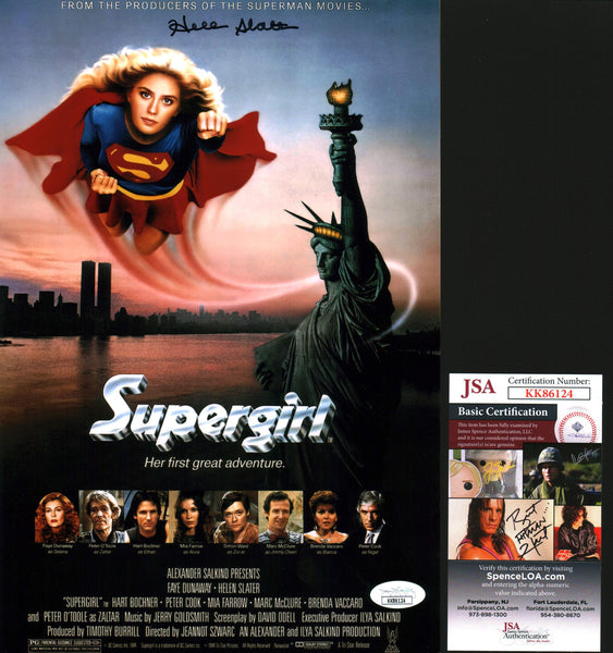 Helen Slater Supergirl 8x12 Photo Signed Autograph JSA Certified COA Auto GalaxyCon