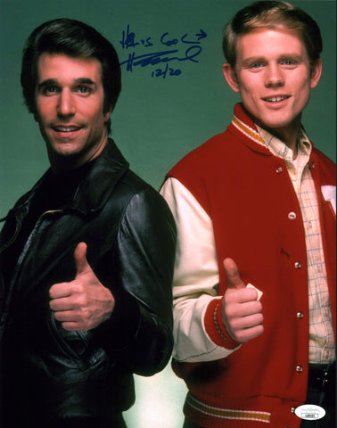 Henry Winkler Happy Days 11x14 Photo Poster Signed Autograph JSA Certified COA Auto GalaxyCon