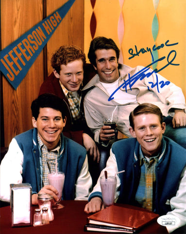 Henry Winkler Happy Days 8x10 Photo Signed Autograph JSA Certified COA Auto GalaxyCon