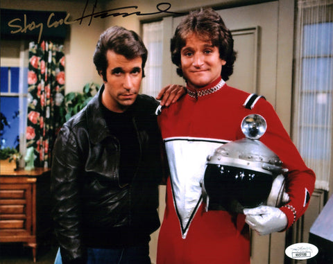 Henry Winkler Happy Days 8x10 Photo Signed Autographed JSA Certified COA GalaxyCon