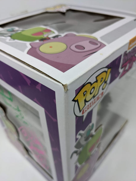 Invader Zim & Gir On The Pig #41 Exclusive Funko Pop JSA Signed By Horvitz Simons GalaxyCon