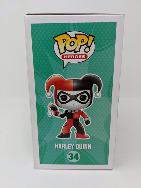Jen Brown DC Comics Harley Quinn #34 Signed JSA Funko Pop Auto GalaxyCon