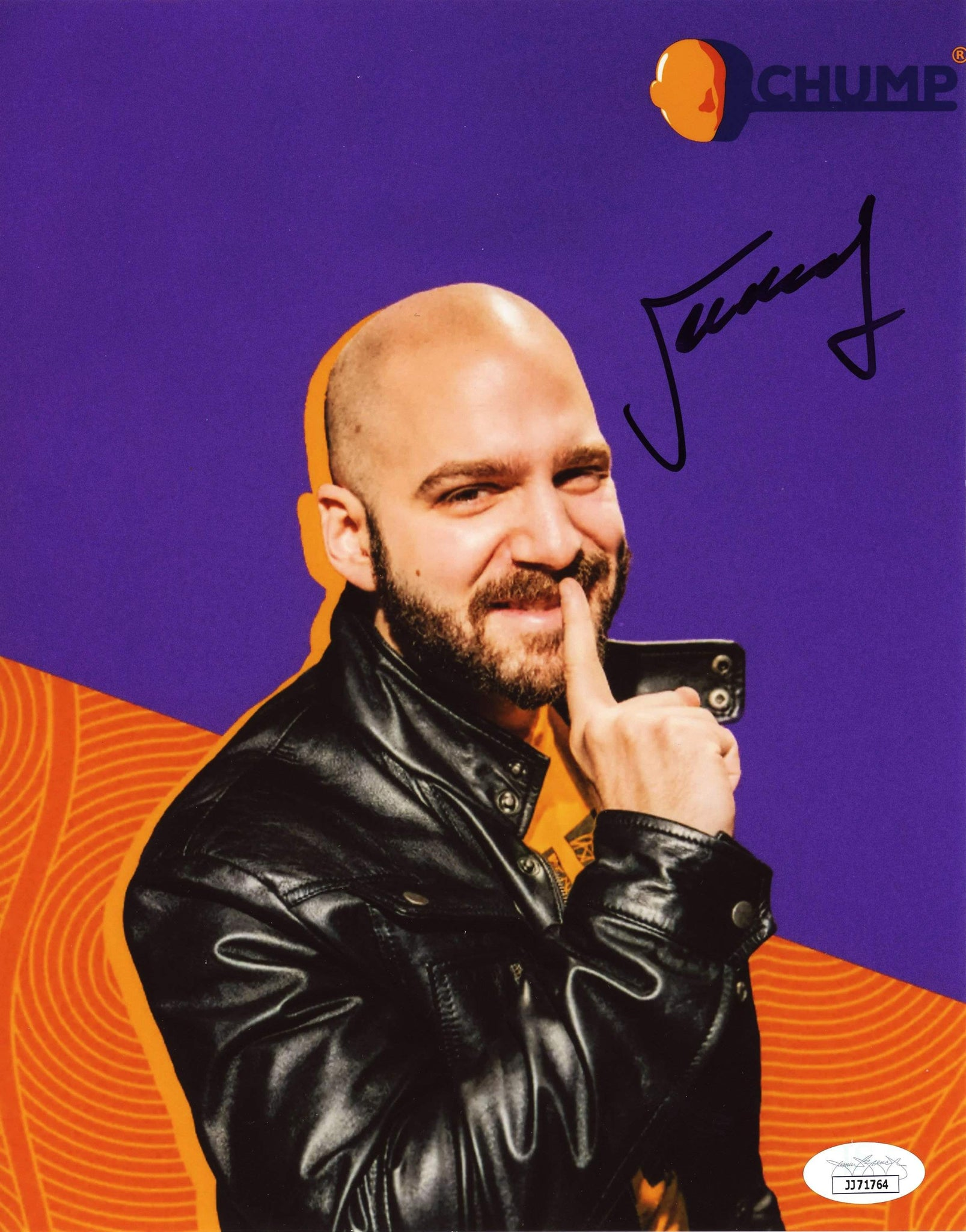 Jeremy Dooley Chump 8x10 Photo Signed Autographed JSA Certified COA GalaxyCon